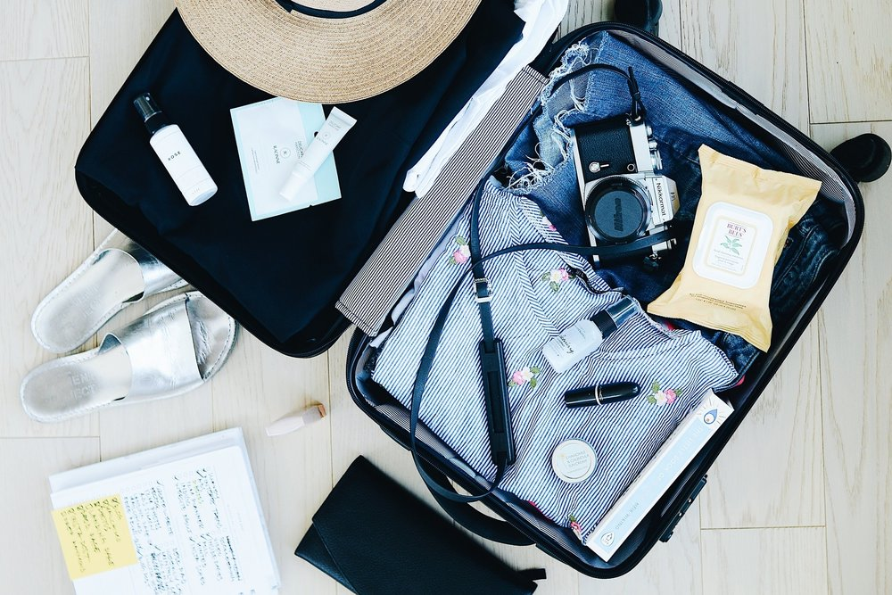 CARRY-ON - Essential carry-on items guranteed to make your trip more complete and secure