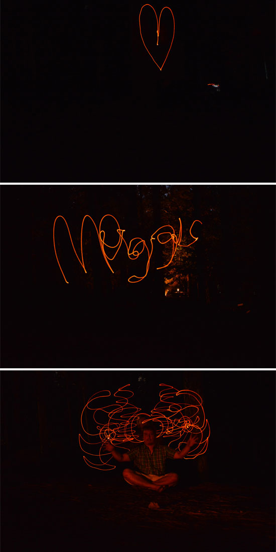 ember drawings - long exposure