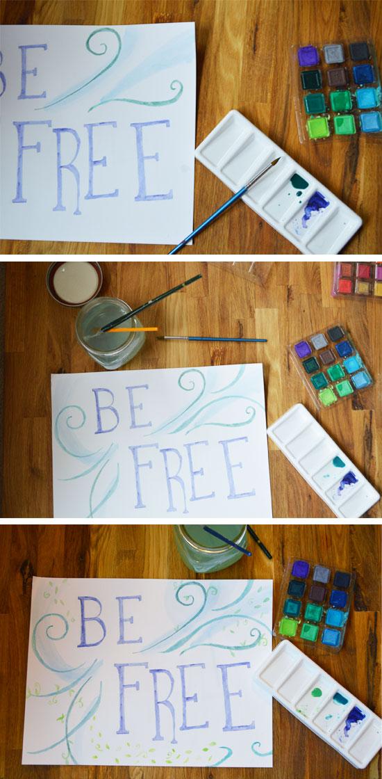 be free - process