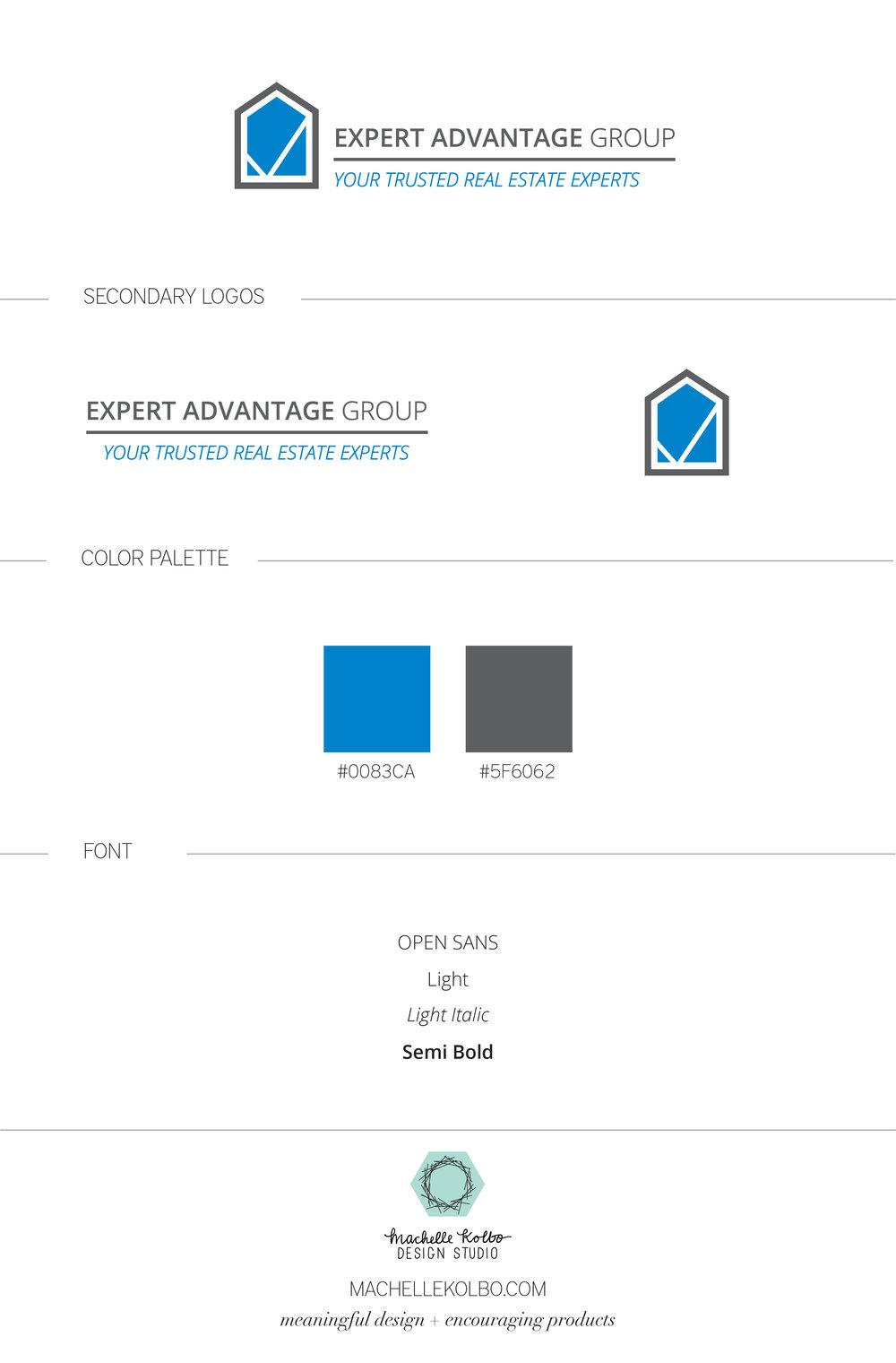 Expert Advantage Real Estate Logo
