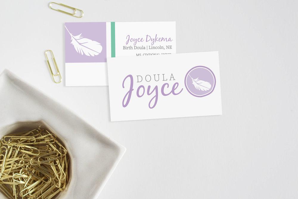 Doula Joyce Brand Identity