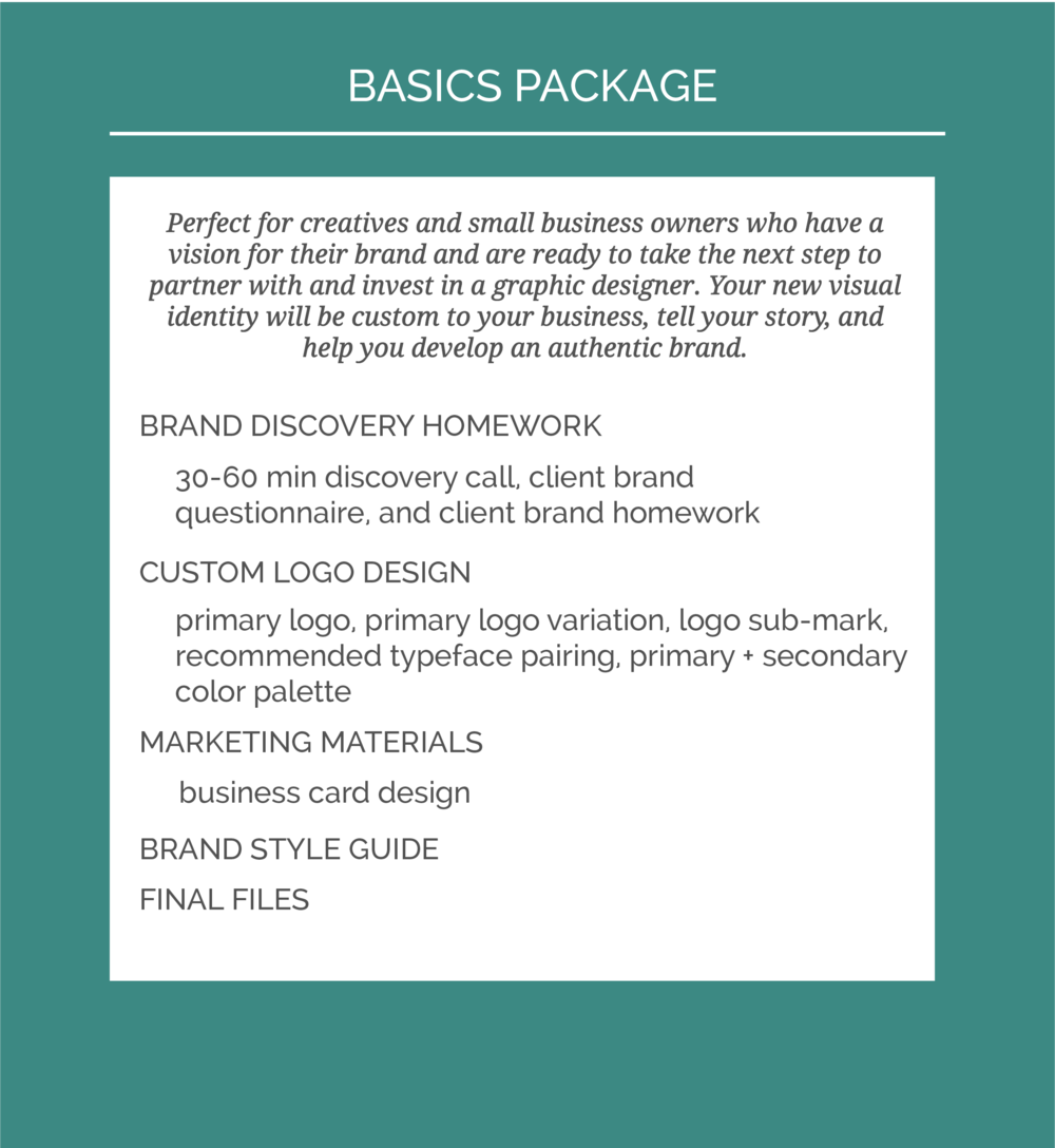 Machelle Kolbo Design Basics Package