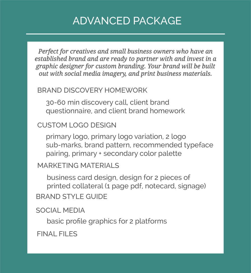 Machelle Kolbo Design Studio Advanced Package