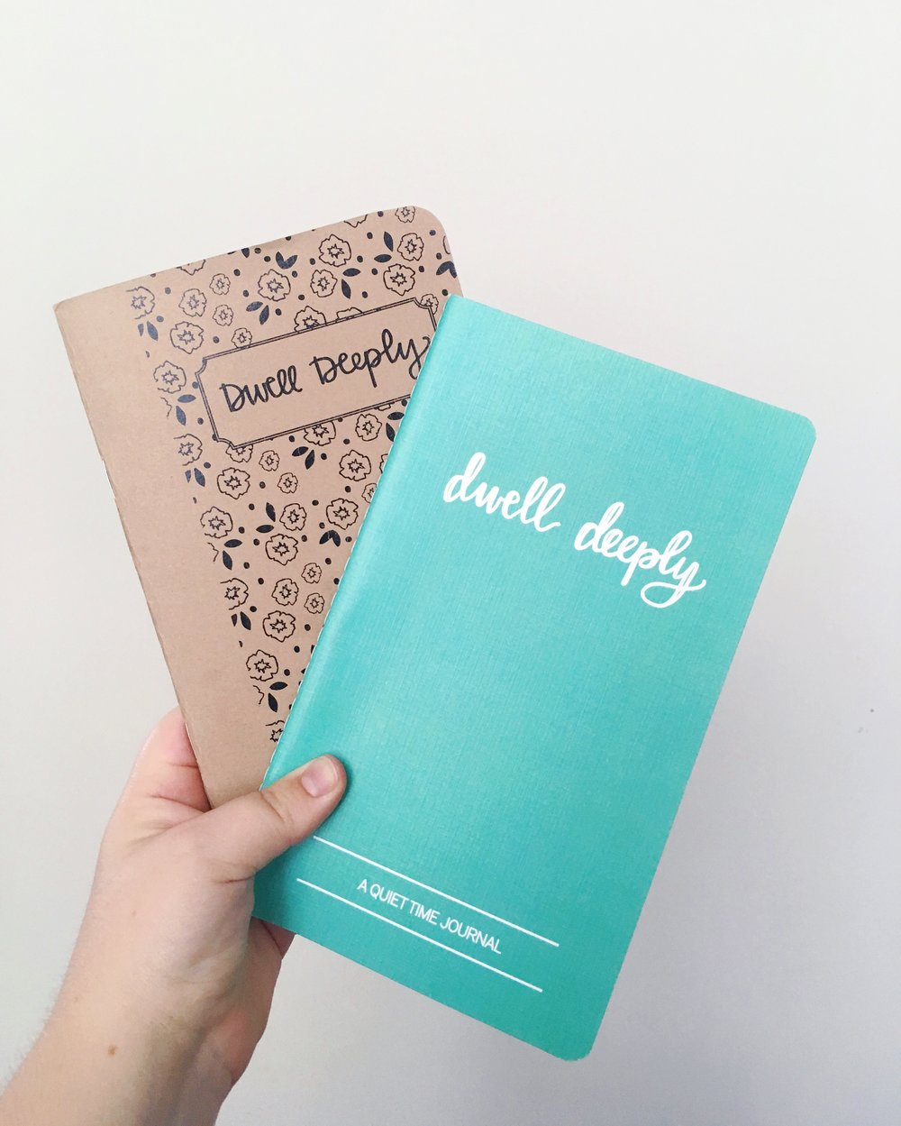 Dwell Deeply Journals | Quiet Time Companion Journals | Machelle Kolbo Design Studio