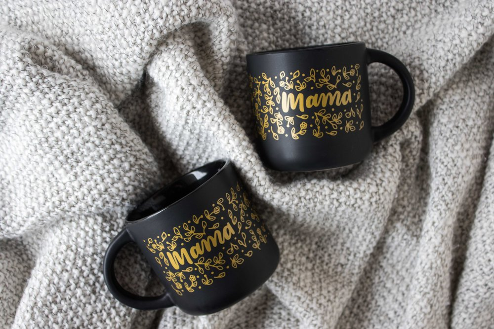 Mama Mug | Available from Machelle Kolbo Design Studio