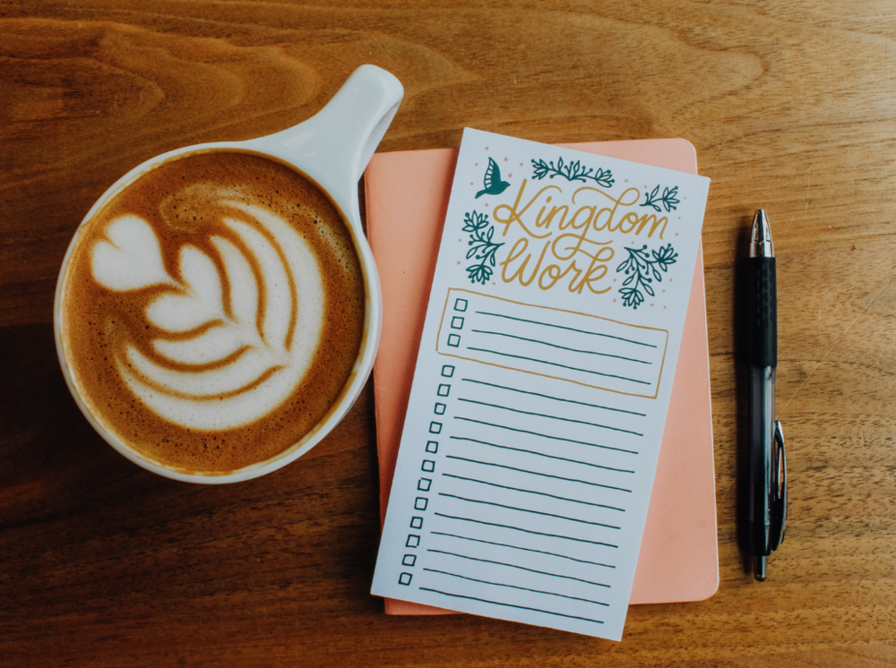Naomi Paper Co | Kingdom Work Notepad