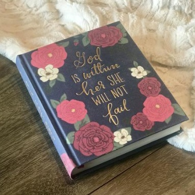 Wheat and Honey Co | God is Within Her ESV Journaling Bible