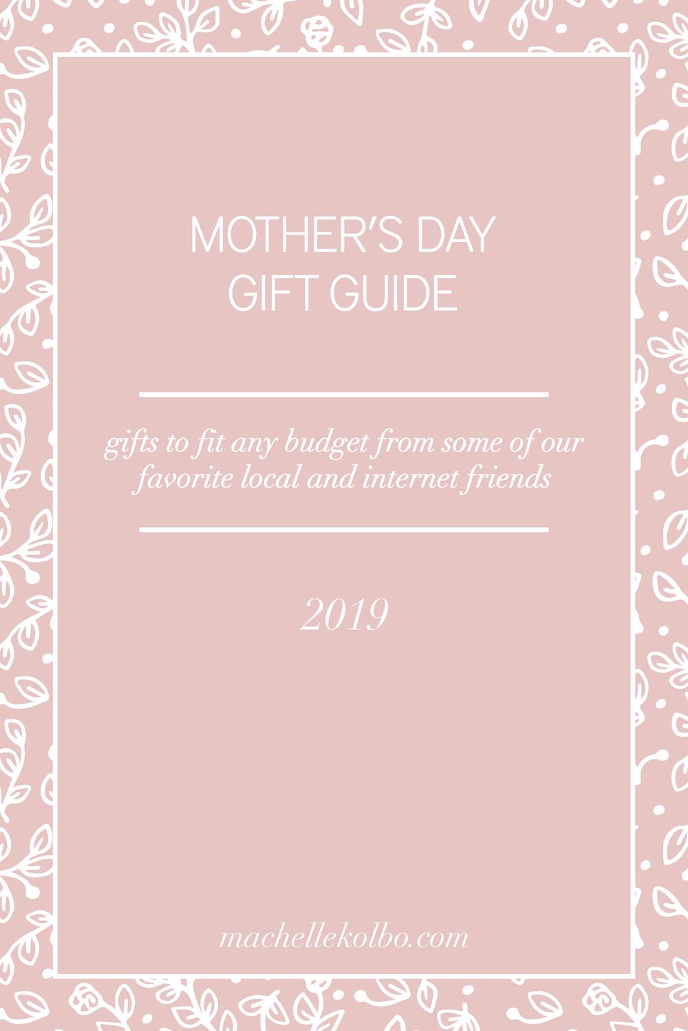 Machelle Kolbo Design Studio | Mother's Day Gift Guide 2019