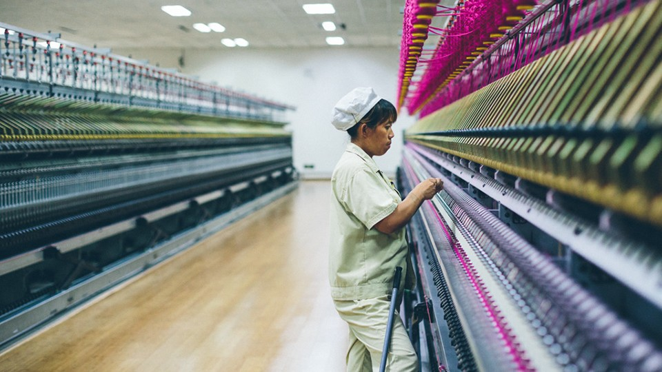 Cashmere Factory,Dongguan, China