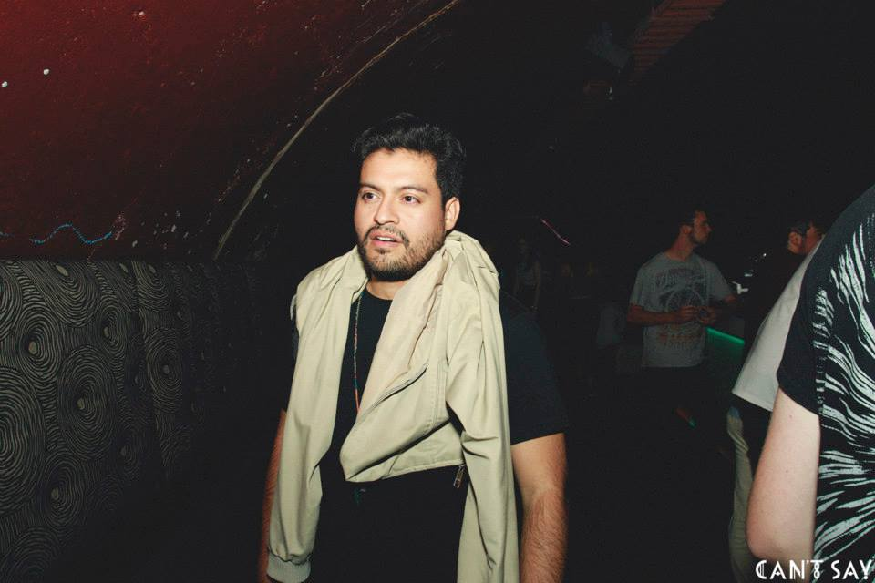 Birthday boy Andrew from Motorik Vibe Council at Can't Say - 30.01.15