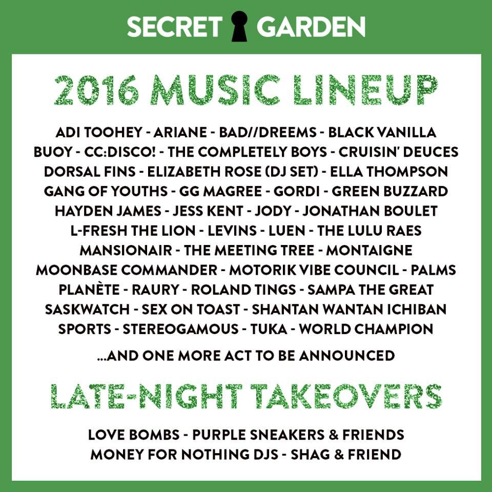 UNDR Ctrl x Secret Garden festival — UNDR ctrl