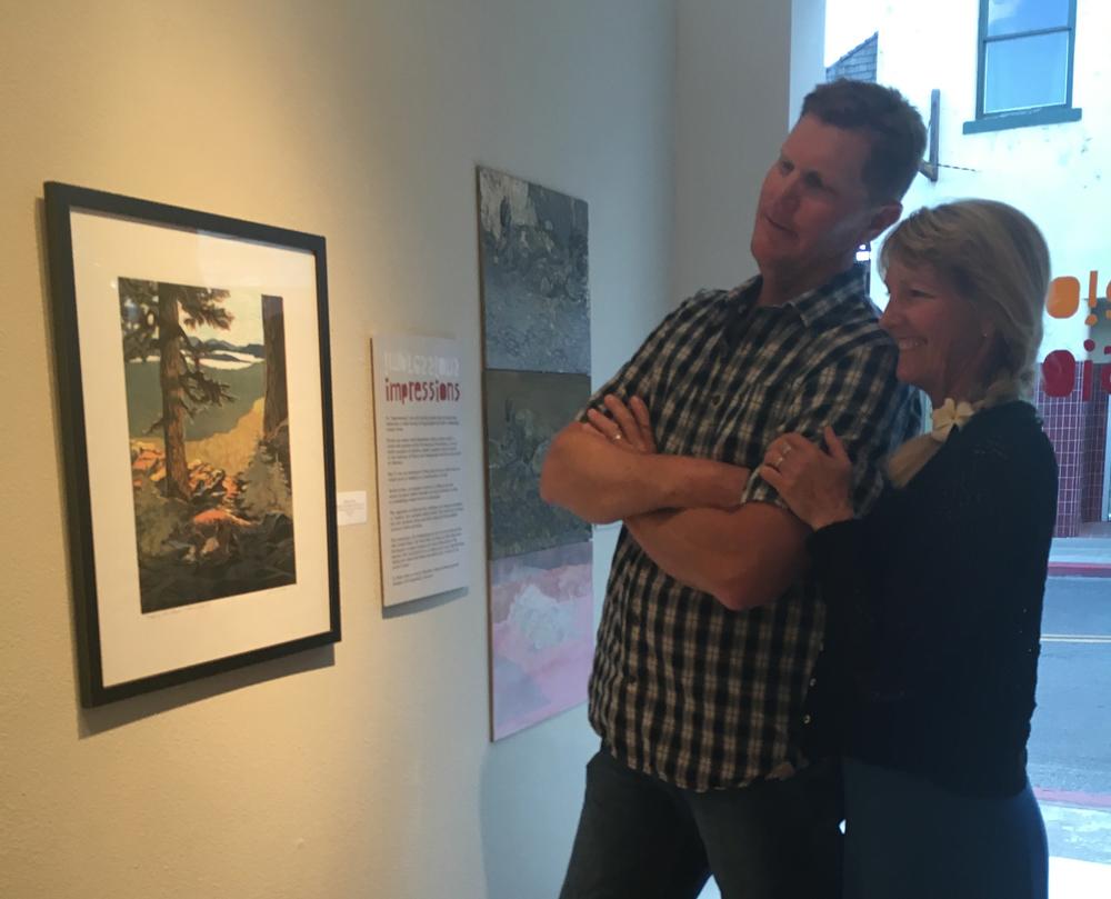 Paul and Lauren Sweezy critiquing Sierra Fox