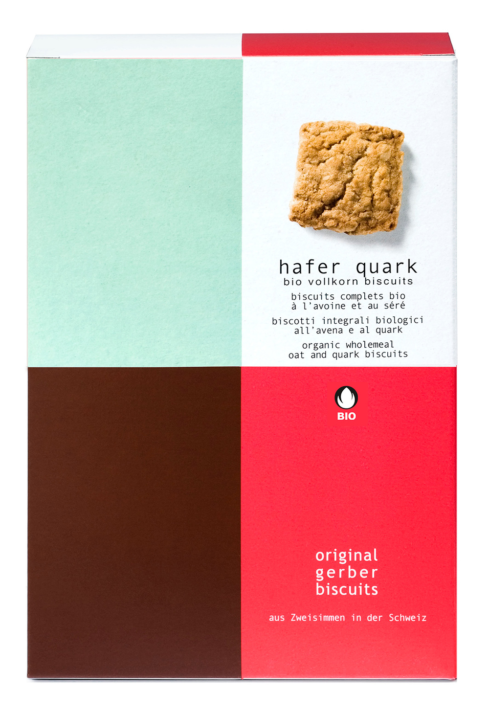 Bio Hafer Quark Biscuits