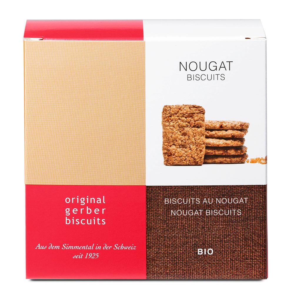 Bio Nougat Biscuits
