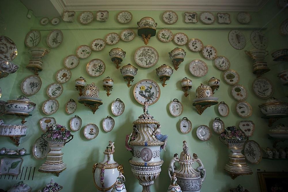 Ceramics in Rosenborg Slot in Copenhagen, Denmark.