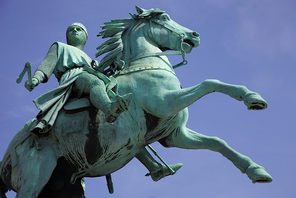 A statue in Copenhagen, Denmark.