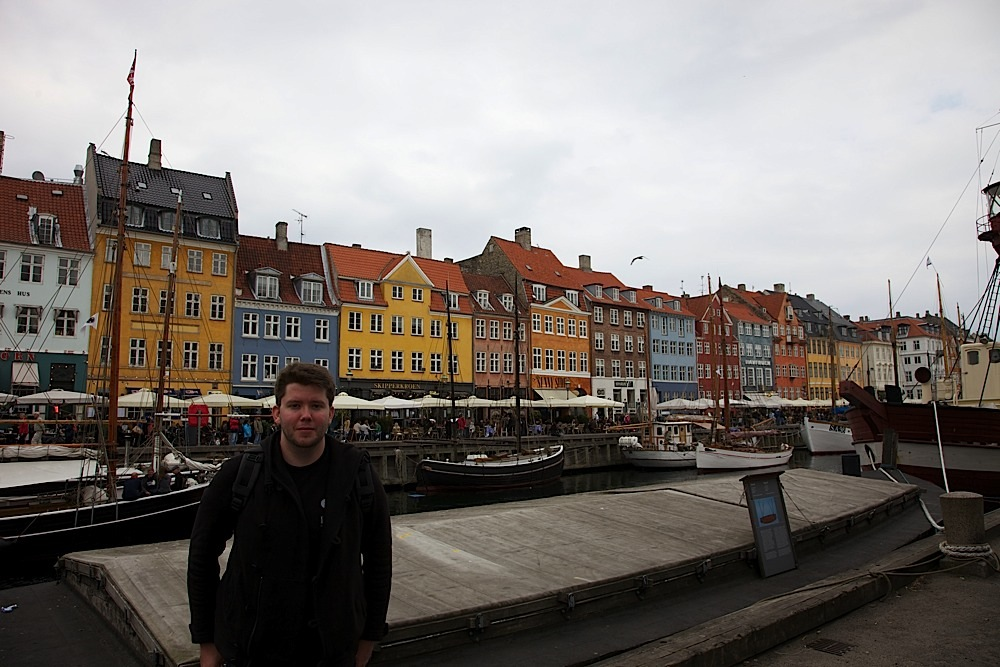 Me in Nyhavn, Copenhagen, Denmark.
