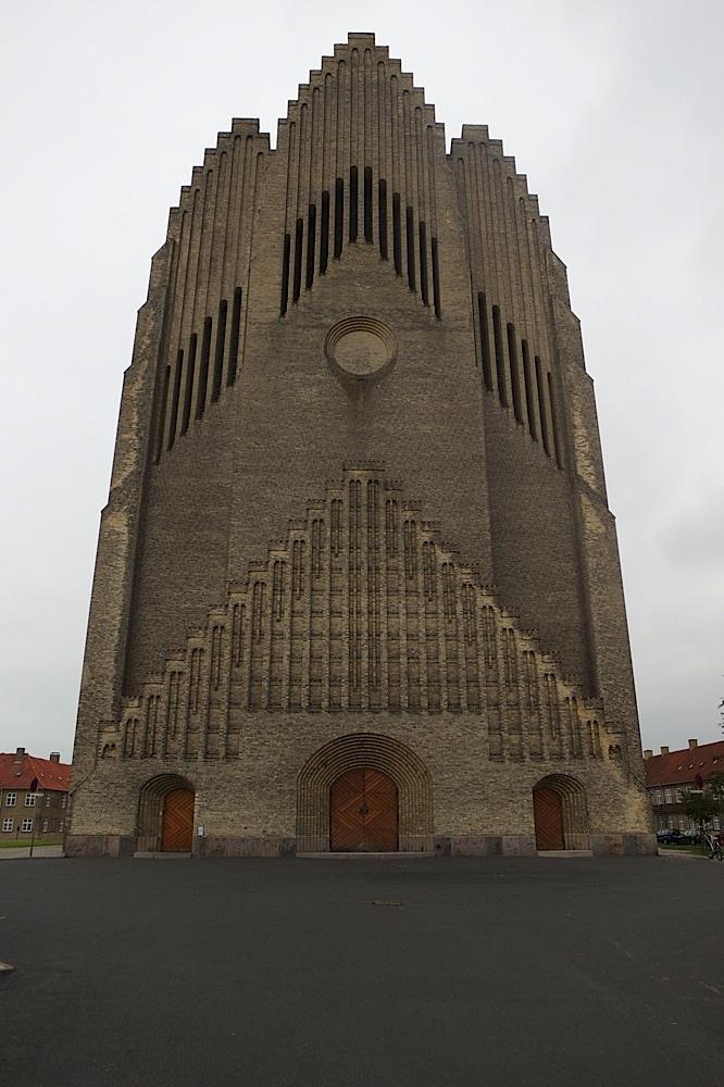 Grundtvigs Kirke (made to look like an organ), Copenhagen, Denmark.
