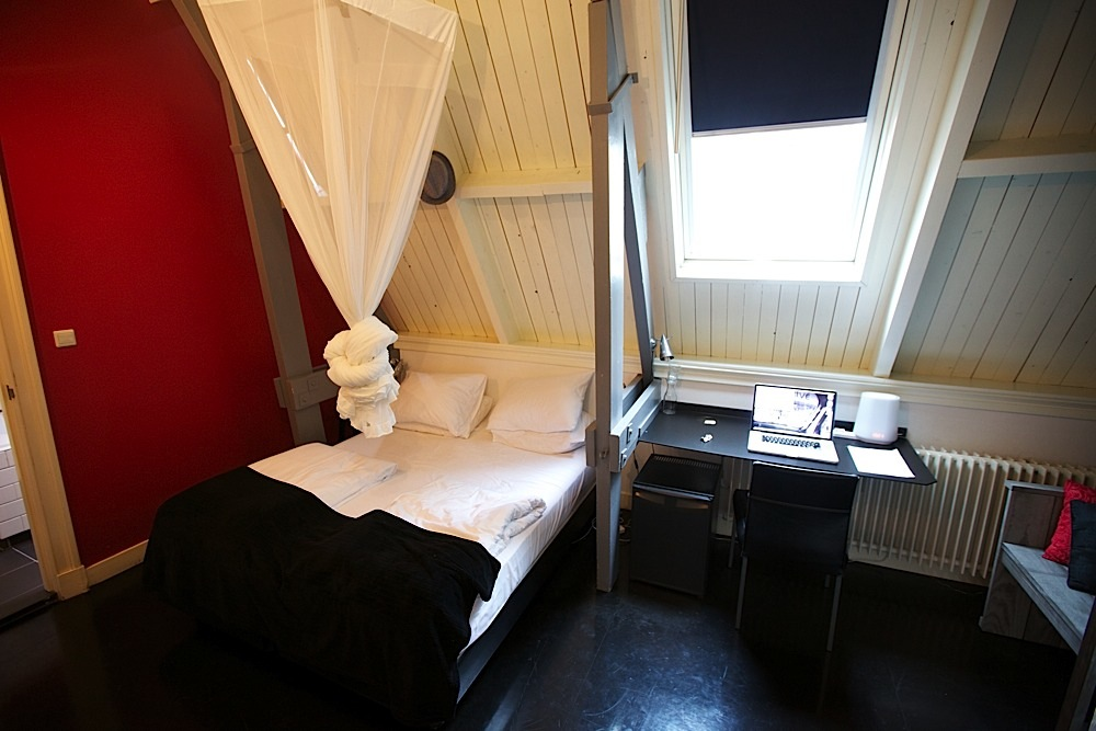 My room in Amsterdam, The Netherlands.