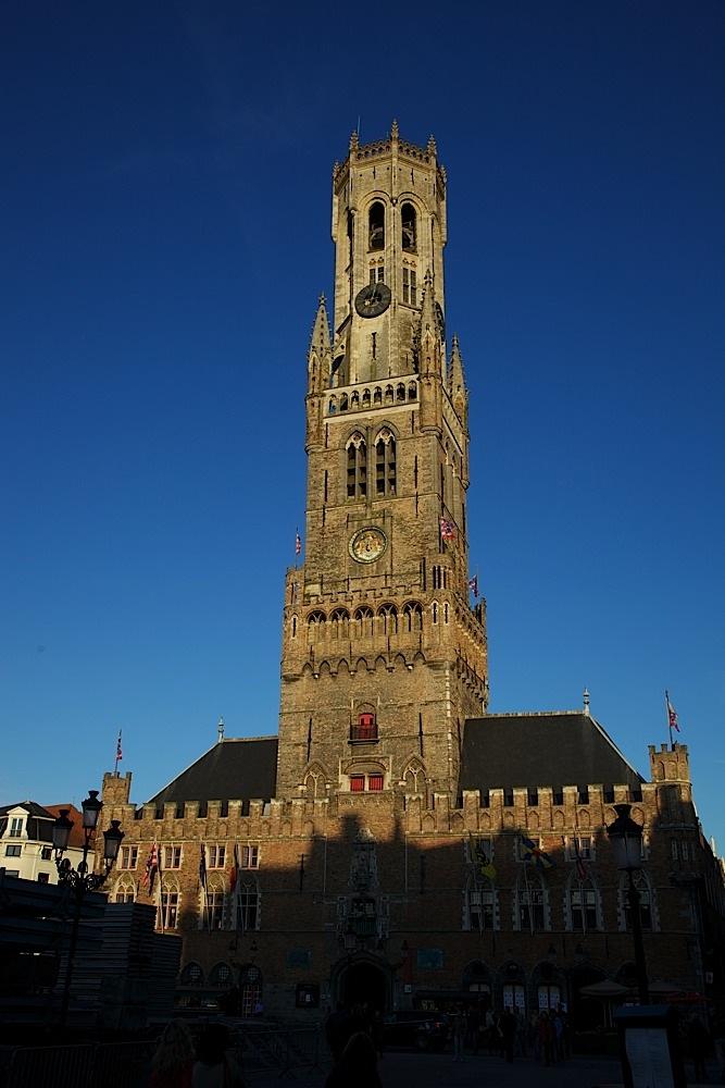 The Belfort in Bruges, Belgium.