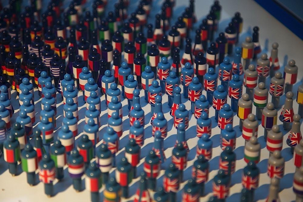 Part of an exhibit at EU Pariliament in Brussels, Belgium.