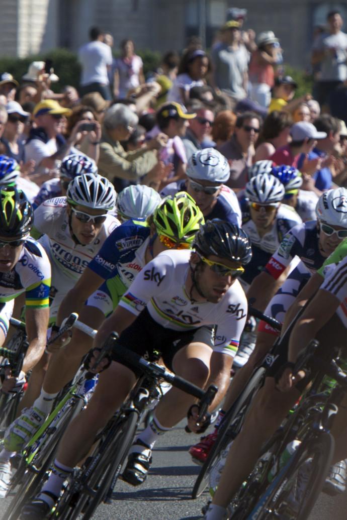Mark Cavendish at Le Tour de France.