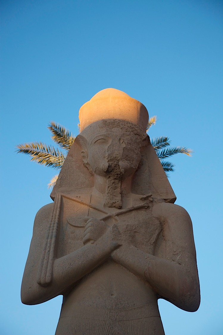 Statue at Karnak, Luxor.