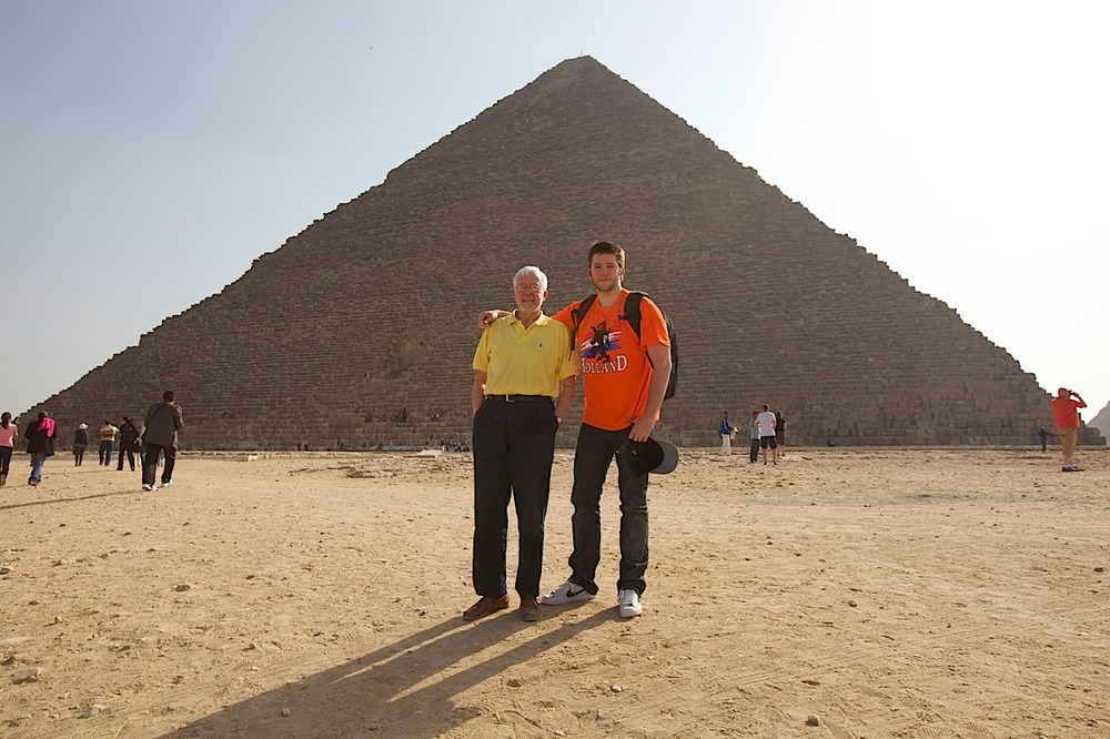 The Great Pyramid at Giza (Khufu or Keops).