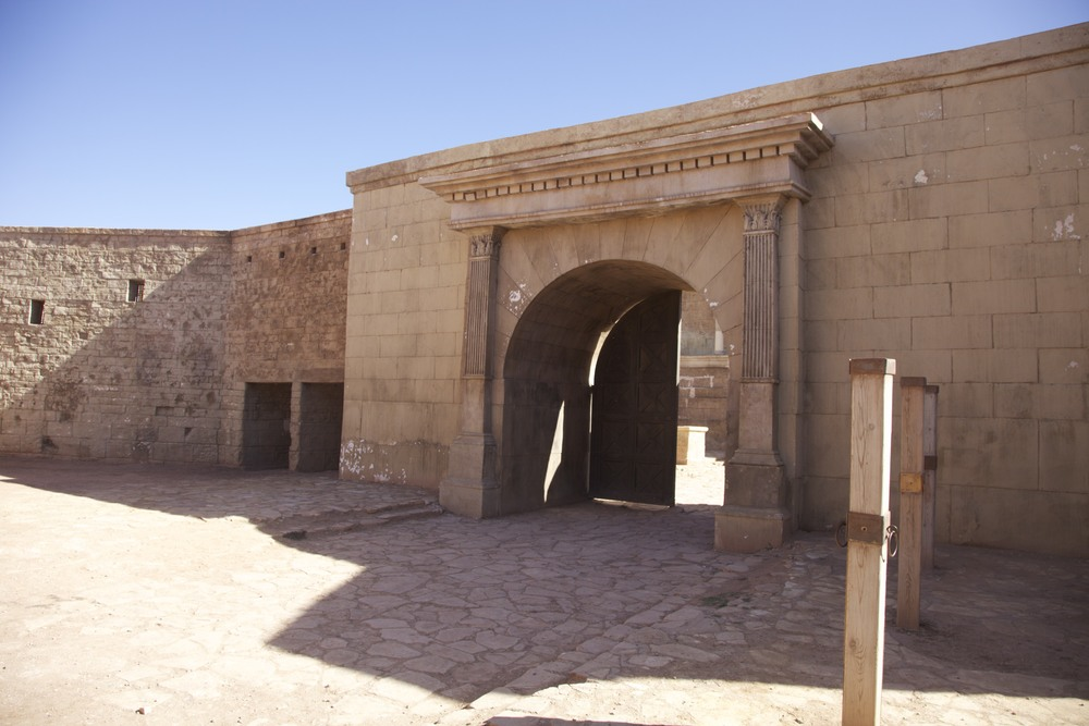 A set from Gladiator at Atlas Studios in Ouarzazate.
