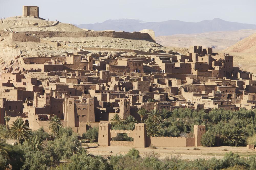 Aït Ben Haddou, a Unesco World Heritage Site near Ouarzazate.