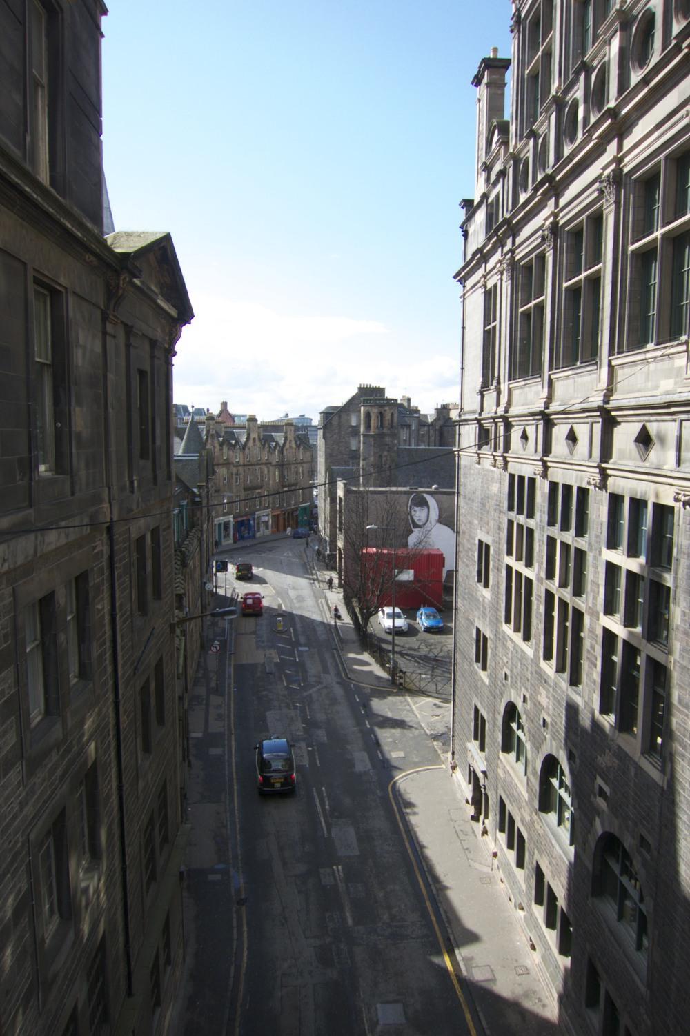 A random street. (Edinburgh, Scotland.)