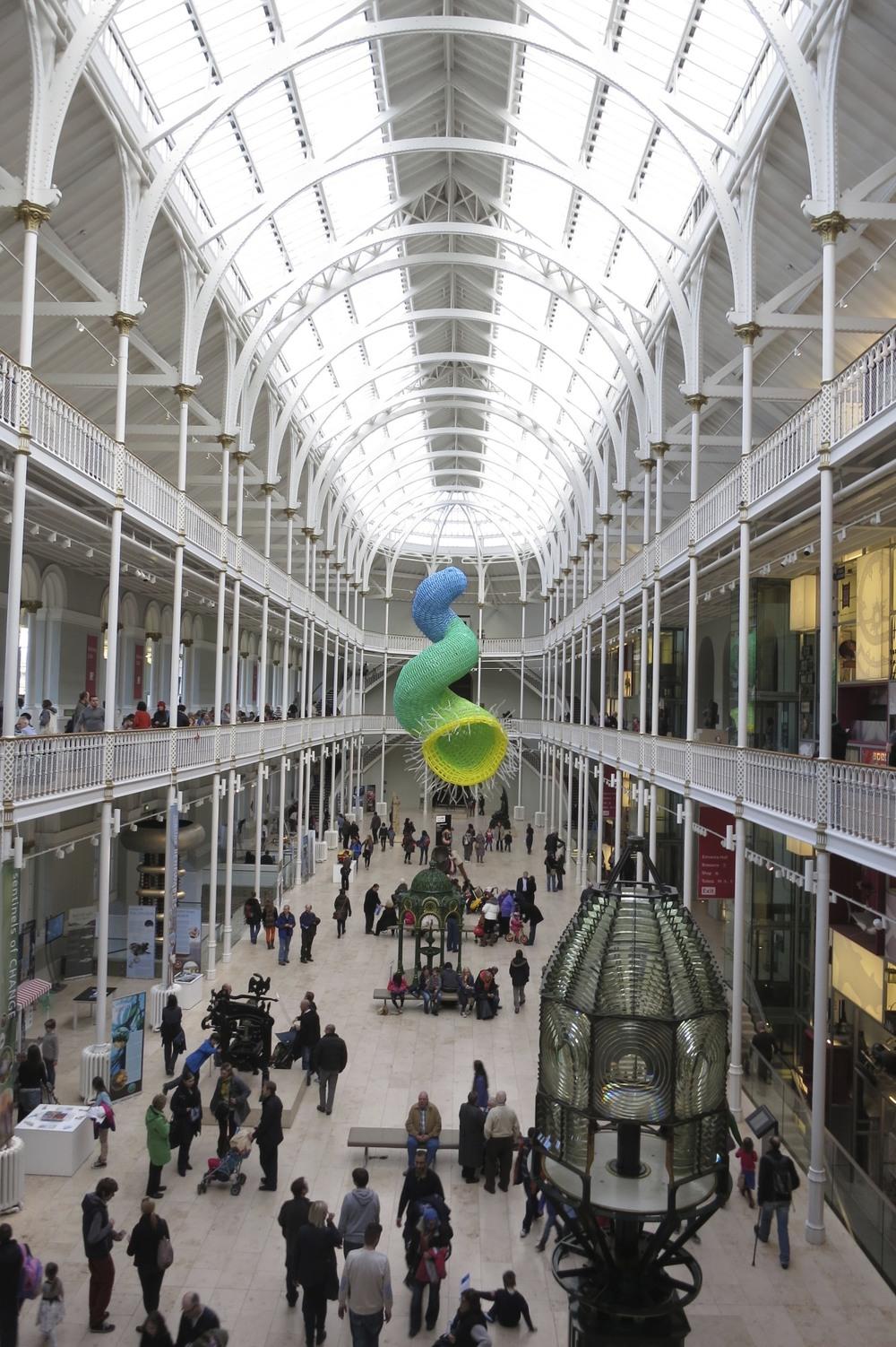 The National Museum of Scotland. (Edinburgh, Scotland.)