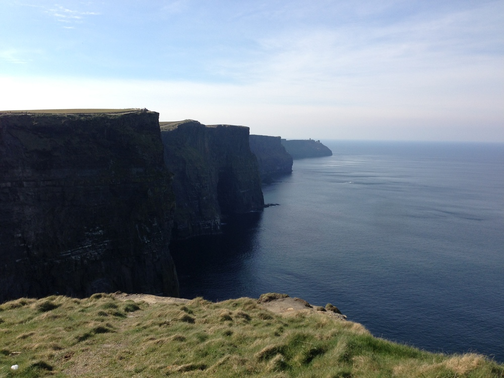The Cliffs of Moher.  (Ireland.)