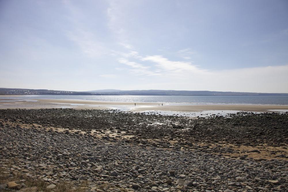 A rocky beach. (Ireland.)