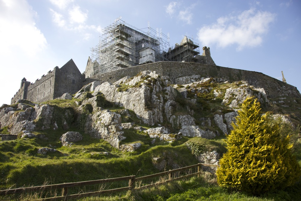 The Rock of Cashel. (Cashel, Ireland.)