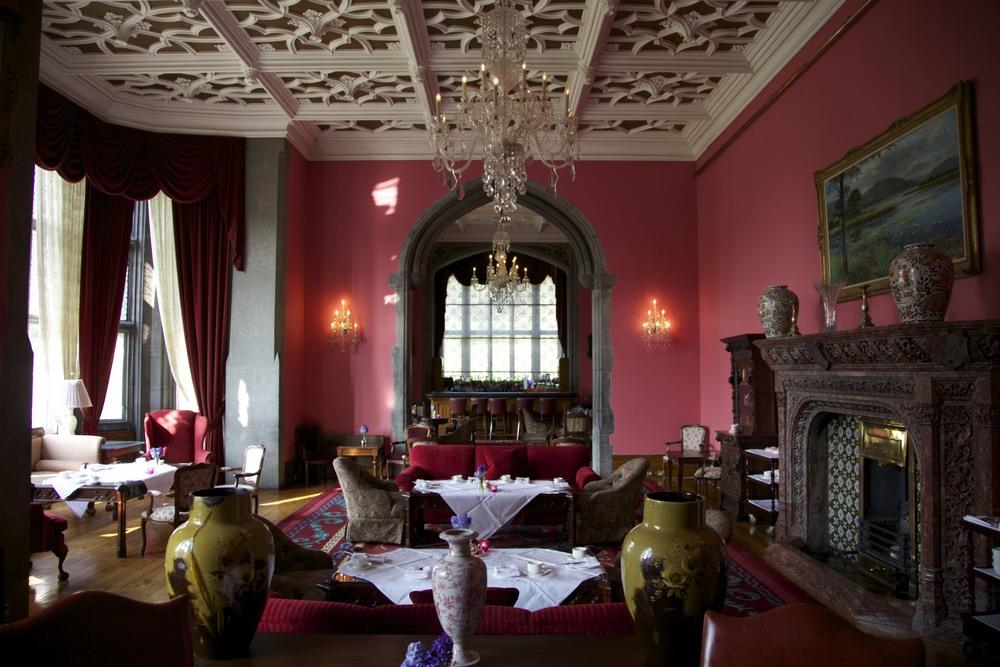 Inside Adare Manor, a beautiful place. (Adare, Ireland.)