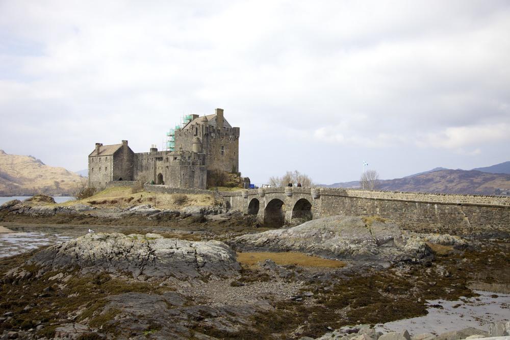 Eilean Donan Castle. (Near Dornie, Scotland.)