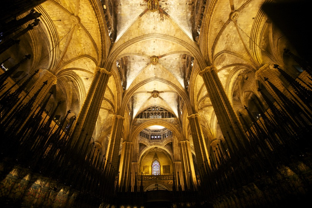 La Catedral de Barcelona.