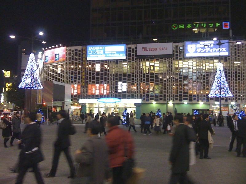 Lights in Shimbashi, Tokyo.