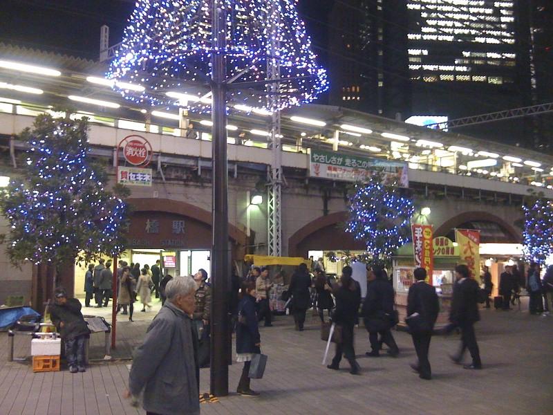 More lights in Shimbashi, Tokyo.