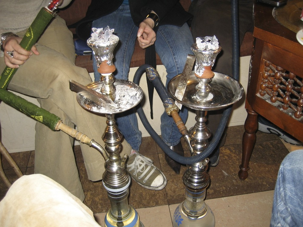 Shisha in the underground nook in Andalous