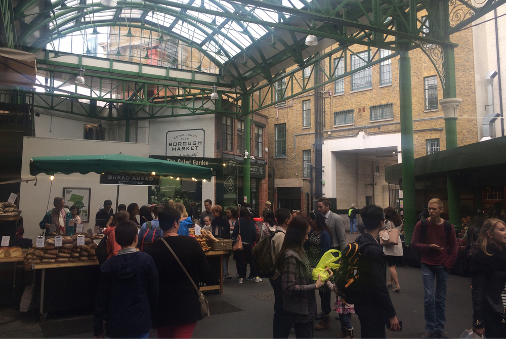 Borough Market, one of London's greatest places to eat and shop. (London, U.K.)