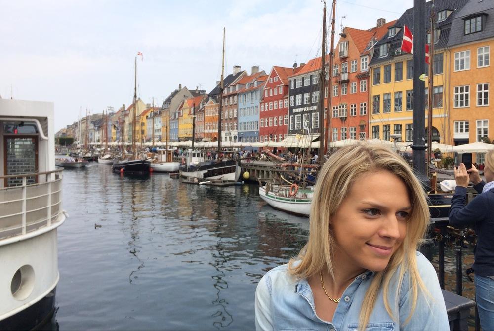 Alexandra in Nyhavn. (Copenhagen, Denmark.)