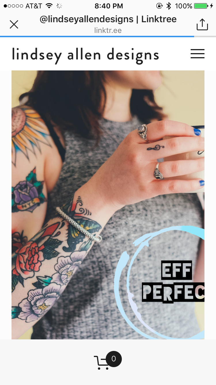 Lindsey Allen Designs for Eff Perfect