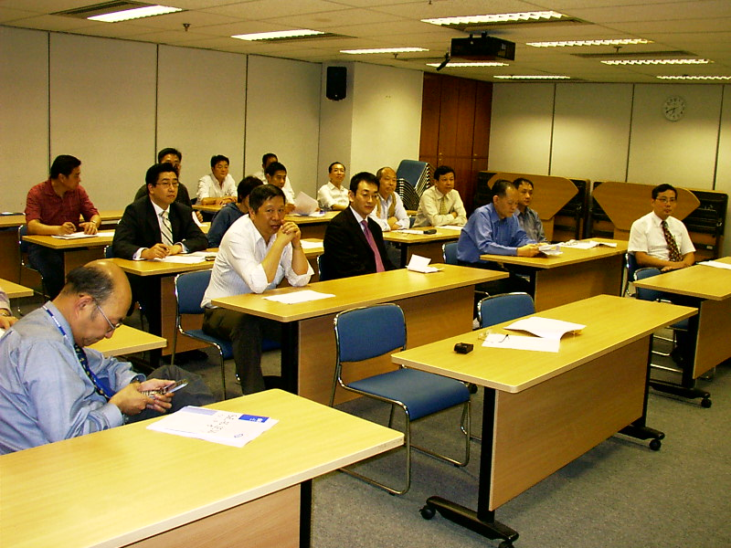 Evening Seminar    Date: 22nd April 2004    Seminar : Application of Ship Simulator by Mr Steven Lam