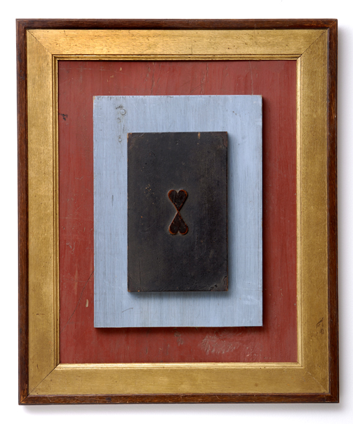"Artist: John Sideli  Name: Blue Valentine  Dimensions: 26"".x 22"" x 3"""