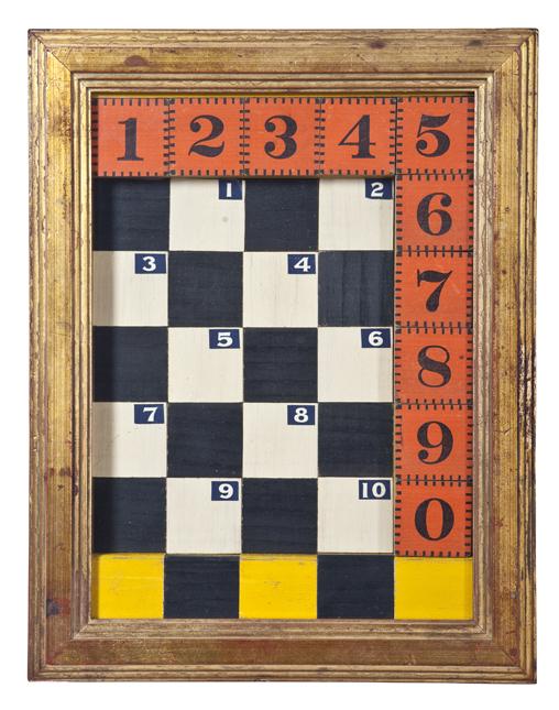 "Artist: John Sideli  Name: Hybrid Game  Dimensions: 14 1/2"" x 11 1/2"" x 1 1/2"""
