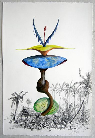 Artist: Vico Fabbris  Name: Fontana Cerulea