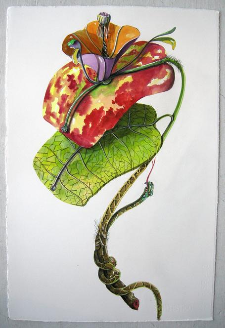 Artist: Vico Fabbris  Name: Serpenie Fulvaria