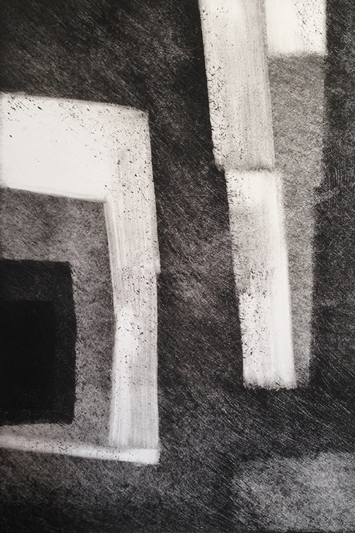 "Artist: John Hopkins  Title: Progression 8  Size: 10"" x 15""  Method: Monotype work on paper  Price:  Inquire"